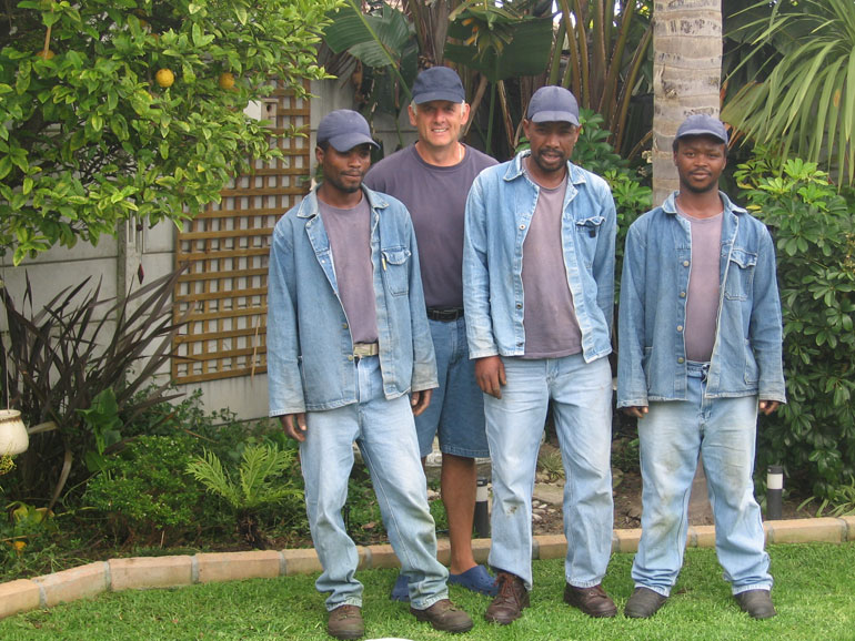 The Bee'z Garden Service Team
